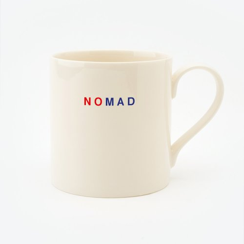 RED, CREAM & BLUE NOMAD STRAIGHT MUG