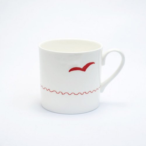 RED SEAGULL MUG