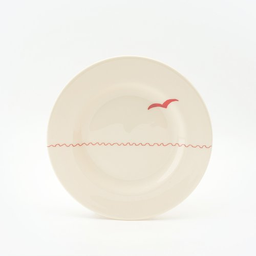 RED SEAGULL SIDE PLATE