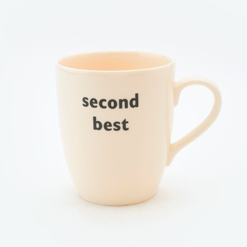SECOND BEST MUG