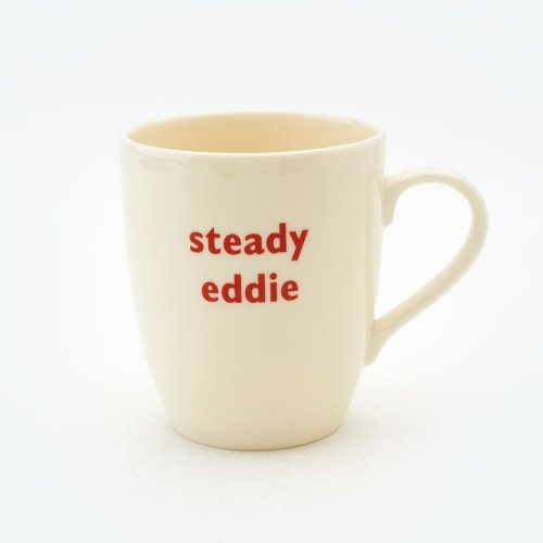 STEADY EDDIE MUG