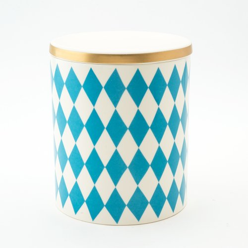 GLORIA DECORATIVE STORAGE JAR TURQUOISE