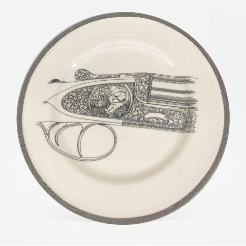 FLYING WOODCOCK DINNER PLATE