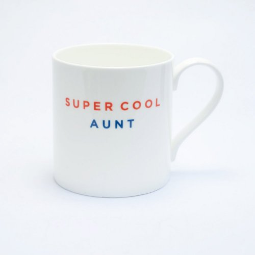 SUPER COOL AUNT STRAIGHT MUG