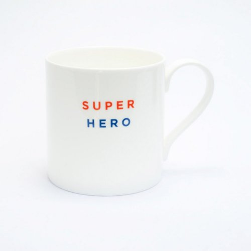 SUPER HERO STRAIGHT MUG