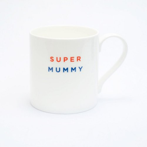 SUPER MUMMY STRAIGHT MUG