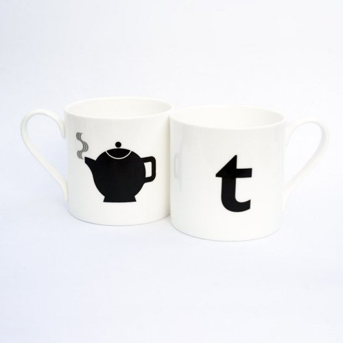 T IS FOR TEAPOT MUG