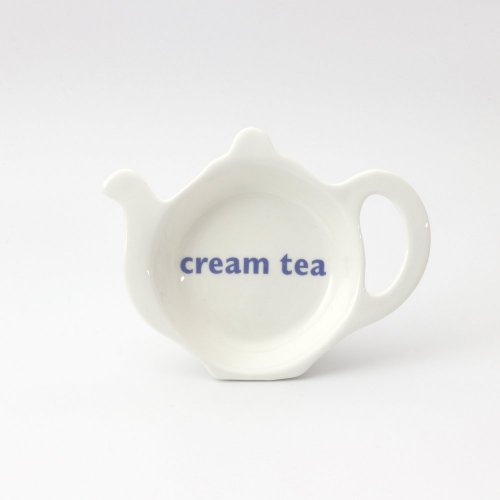 CREAM TEA TEABAG TIDY