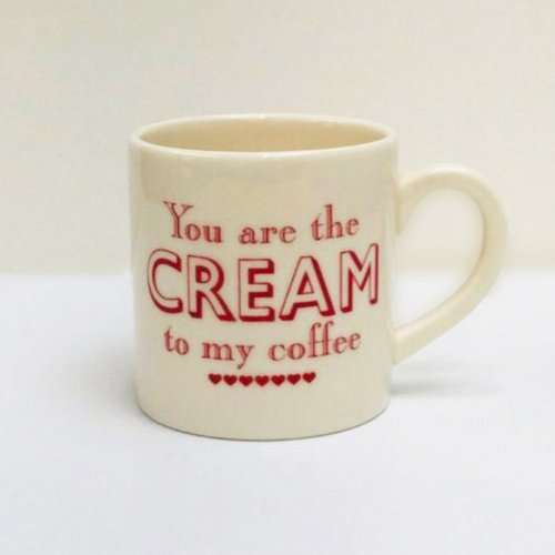 YOU ARE THE CREAM ESPRESSO CUP