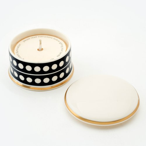 CIRCLE BLACK 'HOLY GRAIL' TRAVEL CANDLE
