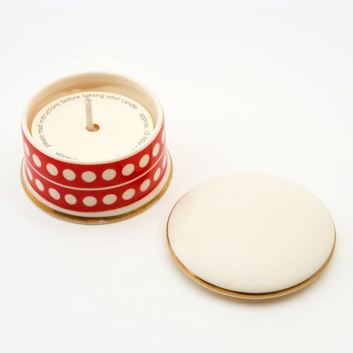 CIRCLE VERMILLION 'SHAME' TRAVEL CANDLE