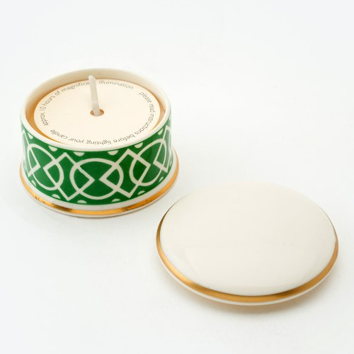 MEDIAEVAL GREEN 'REQUIEM' TRAVEL CANDLE