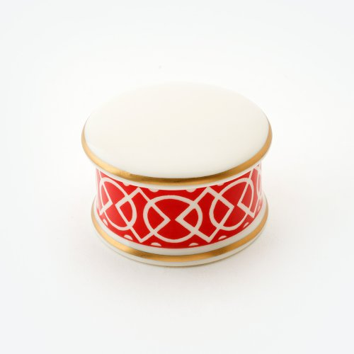 MEDIAEVAL RED TRINKET BOX
