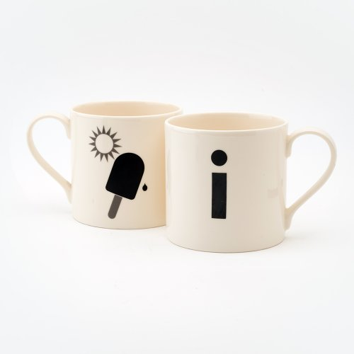 I IS FOR ICELOLLY MUG