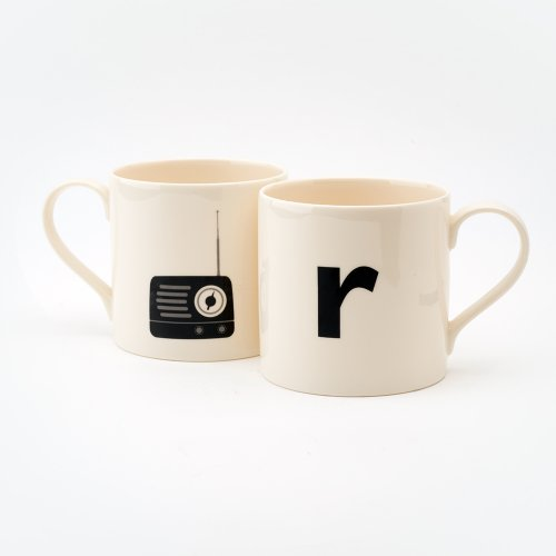 R IS FOR RADIO MUG