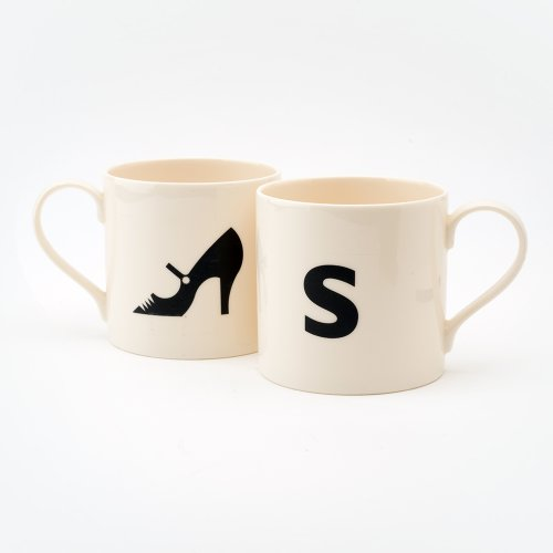 S IS FOR SHOE MUG