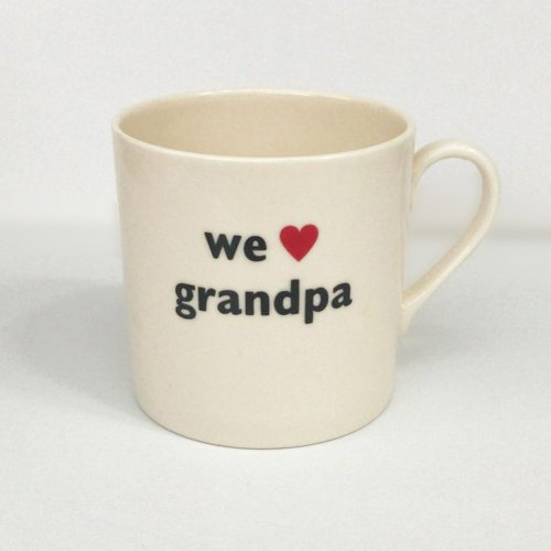 WE HEART GRANDPA CHILD'S MUG