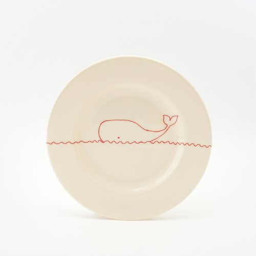 RED WHALE SIDE PLATE