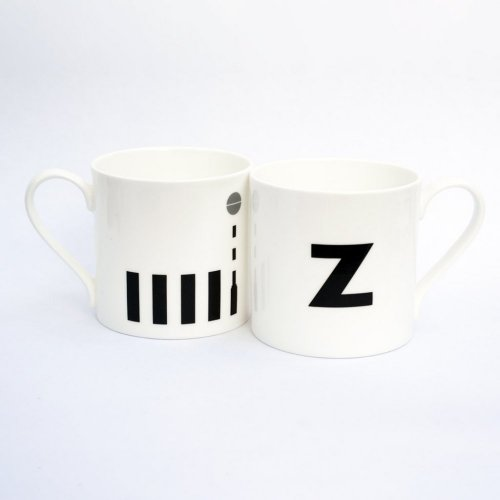Z IS FOR ZEBRA CROSSING MUG