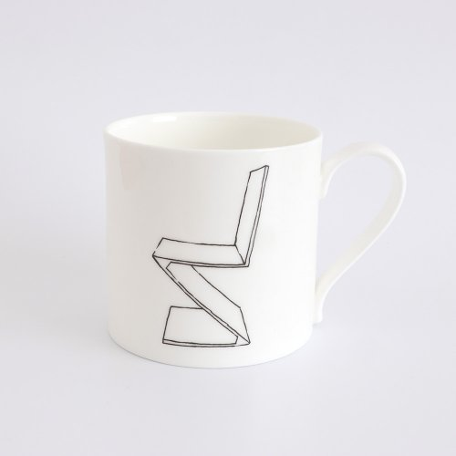 ZIG ZAG CHAIR HALF PINT MUG