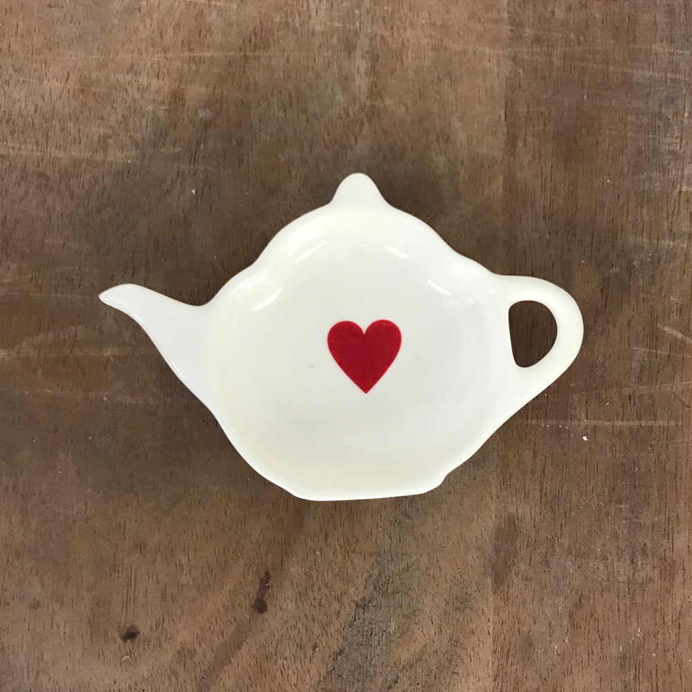 WAREHOUSE SALE! Red Heart tea bag tidy