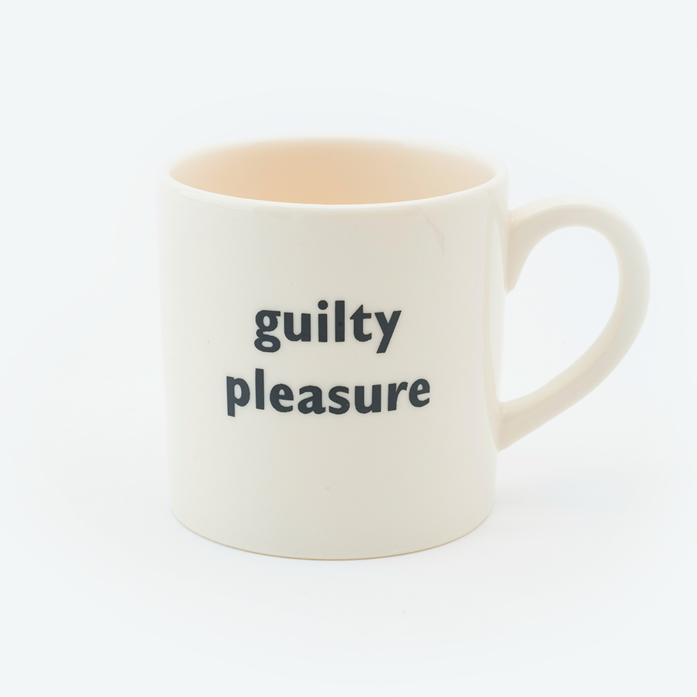 Guilty pleasure espresso cup