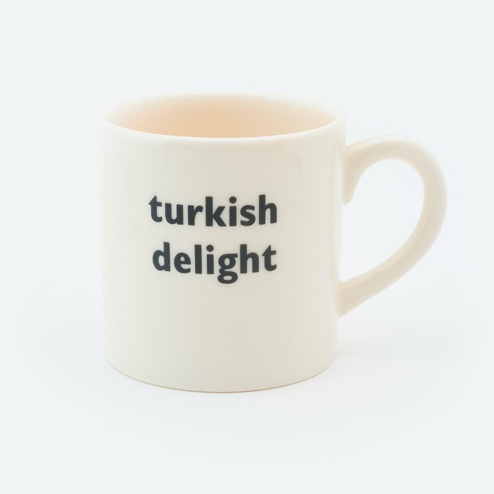 Turkish delight espresso cup