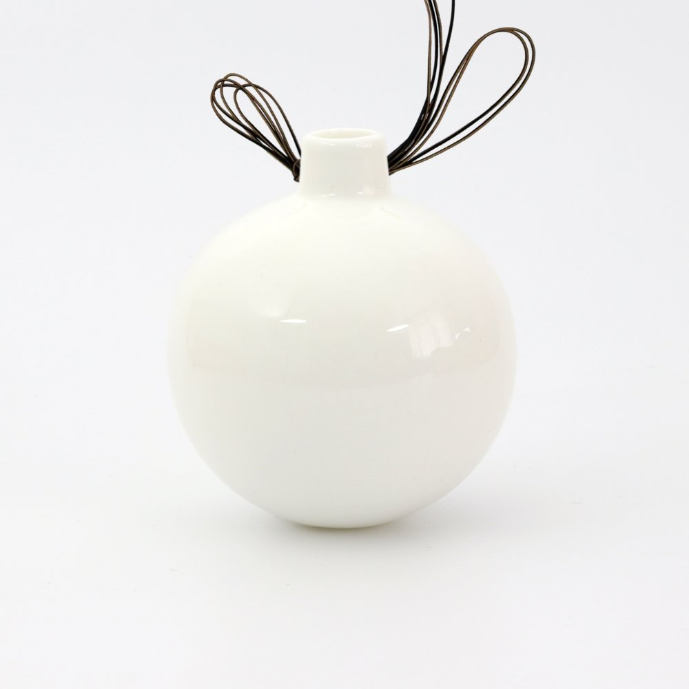 BESPOKE Bone China Christmas bauble