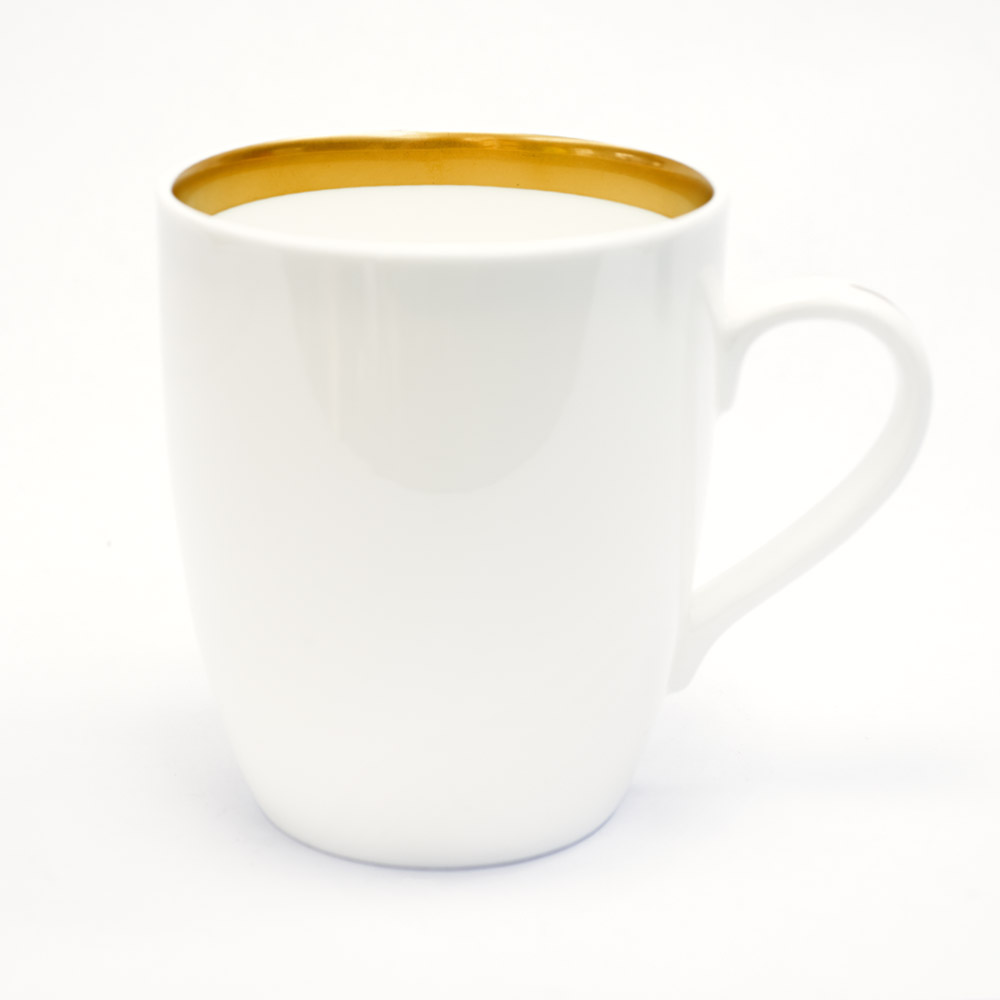 customise 22ct gold classic mug