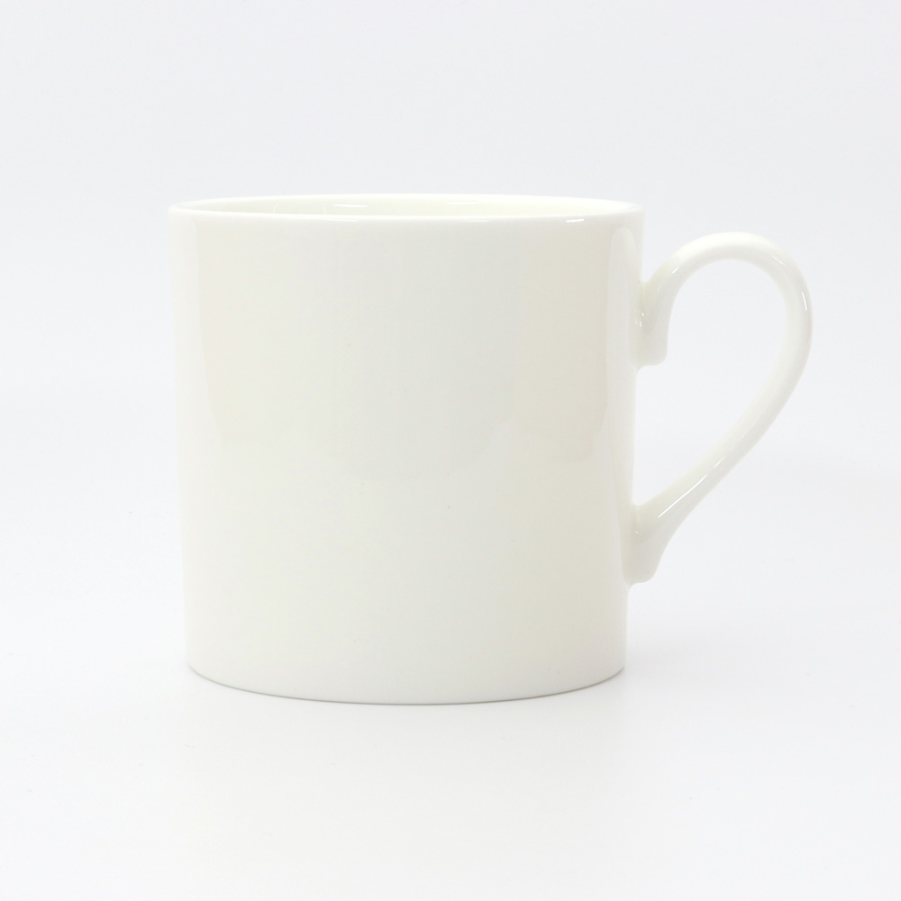 customise small white bone china MUG