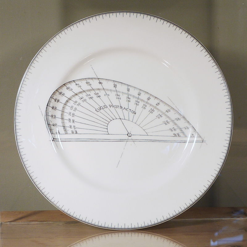 SALE! Protractor dinner plate