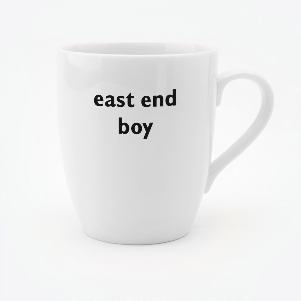 East End Boy mug