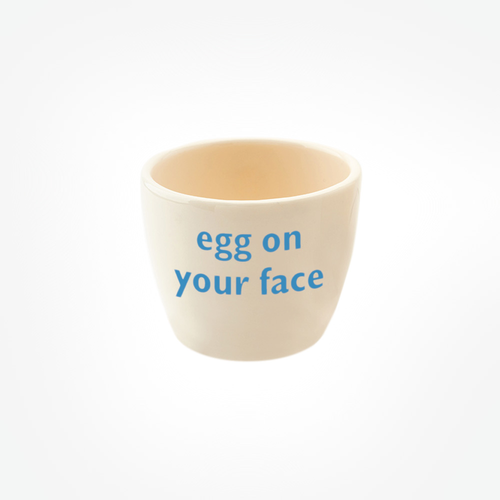 egg on your face egg tot