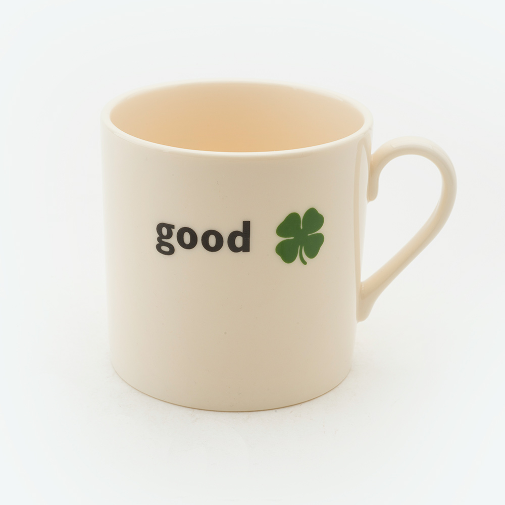 Good luck child's mug