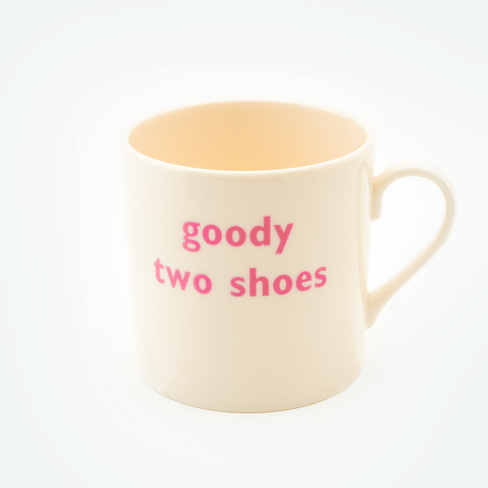 Goody two shoes child's mug