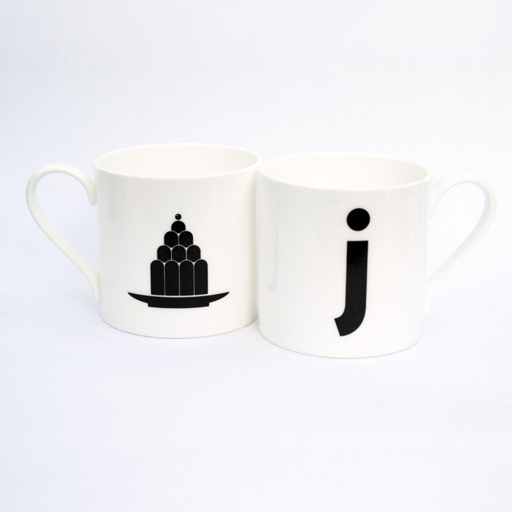 J IS FOR JELLY mug