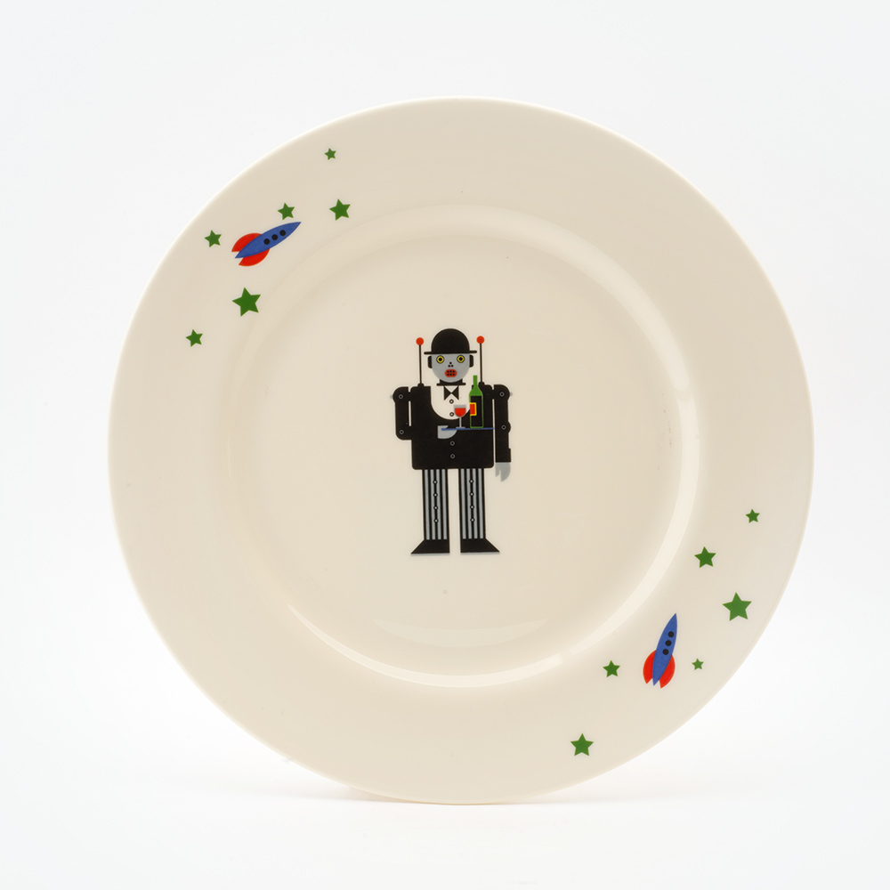 JEEVES DINNER PLATE & Jeeves dinner plate - Big Tomato Company