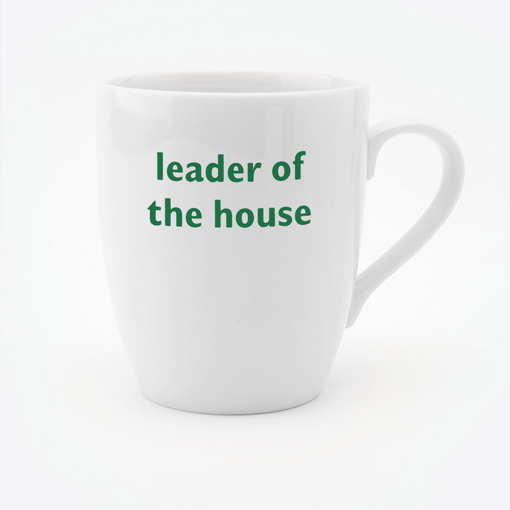 Leader of the House Mug