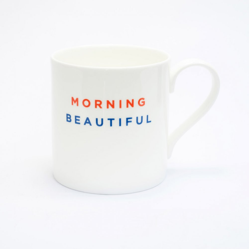 MORNING BEAUTIFUL Straight Mug