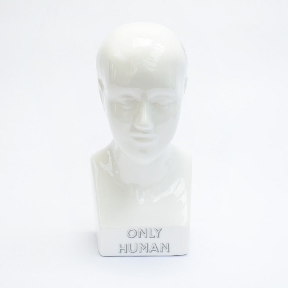 ONLY HUMAN HEAD