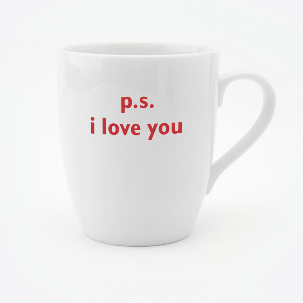 PS I love you mug