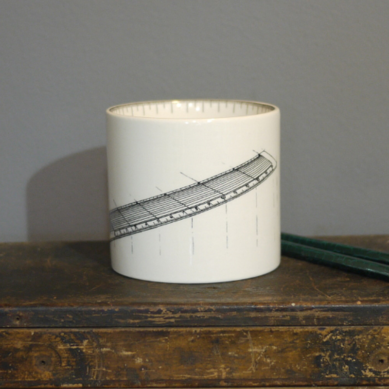 SALE! Ruler Small pen pot