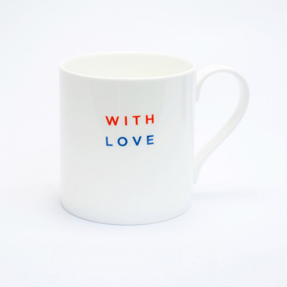 WITH LOVE Straight Mug